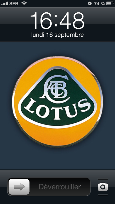 Lotus iPhone home page